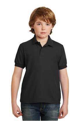 Picture of Gildan ®  Youth DryBlend ®  6-Ounce Double Pique Sport Shirt. 72800B