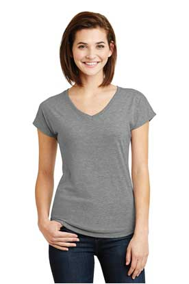 Picture of Anvil ®  Ladies Tri-Blend V-Neck Tee. 6750VL