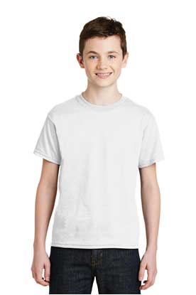 Picture of Gildan ®  - Youth DryBlend ®  50 Cotton/50 Poly T-Shirt.  8000B
