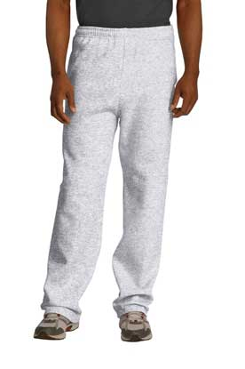 Picture of JERZEES ®  NuBlend ®  Open Bottom Pant with Pockets. 974MP