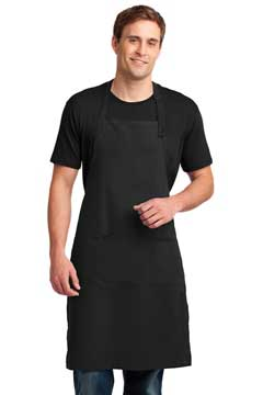 Picture of Port Authority ®  Easy Care Extra Long Bib Apron with Stain Release. A700