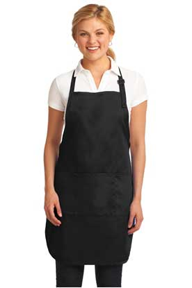 Picture of Port Authority ®  Easy Care Full-Length Apron with Stain Release. A703