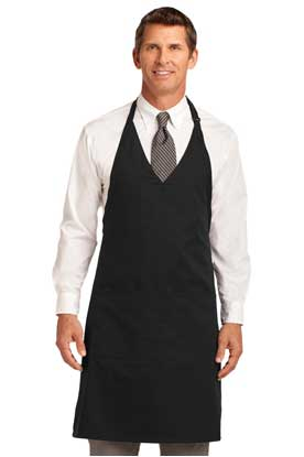 Picture of Port Authority ®  Easy Care Tuxedo Apron with Stain Release. A704
