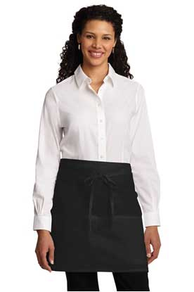 Picture of Port Authority ®  Easy Care Half Bistro Apron with Stain Release. A706