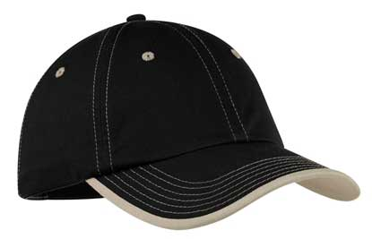 Picture of Port Authority ®  Vintage Washed Contrast Stitch Cap.  C835
