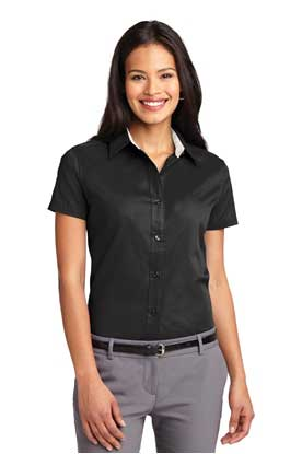 Picture of Port Authority ®  Ladies Short Sleeve Easy Care  Shirt.  L508