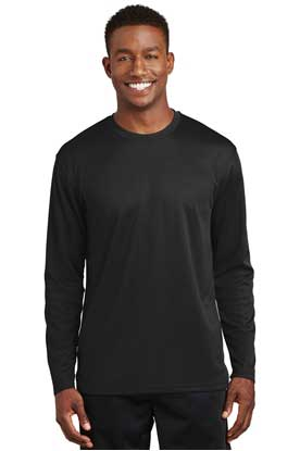 Picture of Sport-Tek ®  Dri-Mesh ®  Long Sleeve T-Shirt.  K368