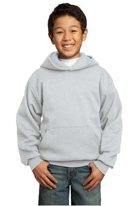 Picture of Port & Company ®  - Youth Core Fleece Pullover Hooded Sweatshirt.  PC90YH