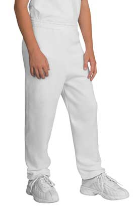 Picture of Port & Company ®  - Youth Core Fleece Sweatpant.  PC90YP