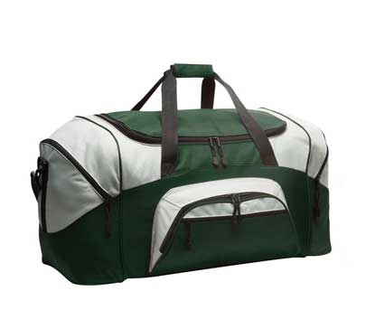 Picture of Port Authority ®  - Standard Colorblock Sport Duffel.  BG99