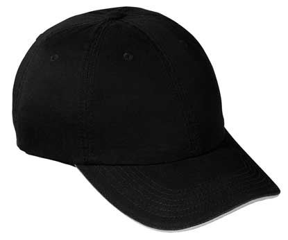 Picture of Port & Company ®  - Washed Twill Sandwich Bill Cap.  CP79