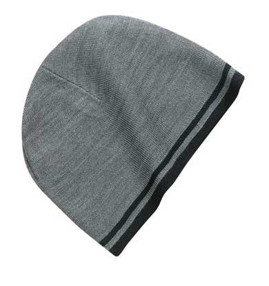 Picture of Port & Company ®  - Fine Knit Skull Cap with Stripes.   CP93