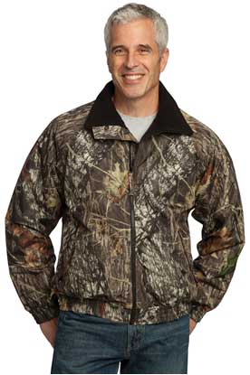 Picture of Port Authority ®  Waterproof Mossy Oak ®  Challenger™ Jacket.  J754MO