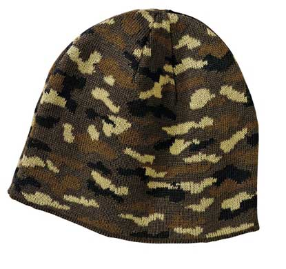 Picture of Port & Company ®  - Camo Beanie Cap.  CP91C
