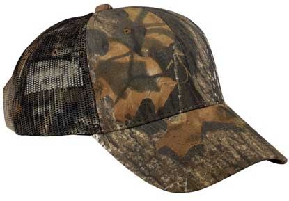 Picture of Port Authority ®  Pro Camouflage Series Cap with Mesh Back.  C869