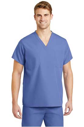 Picture of CornerStone ®  - Reversible V-Neck Scrub Top.  CS501