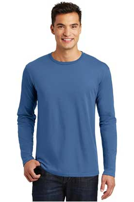 Picture of District Made ®  Mens Perfect Weight ®  Long Sleeve Tee. DT105