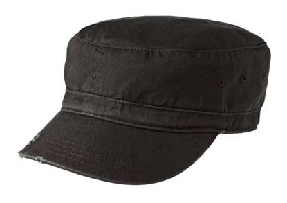 Picture of District ®  - Distressed Military Hat.  DT605