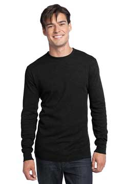 Picture of District ®  - Young Mens Long Sleeve Thermal.  DT118