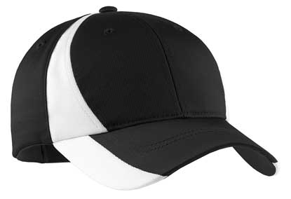 Picture of Sport-Tek ®  Dry Zone ®  Nylon Colorblock Cap. STC11