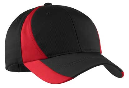 Picture of Sport-Tek ®  Youth Dry Zone ®  Nylon Colorblock Cap. YSTC11