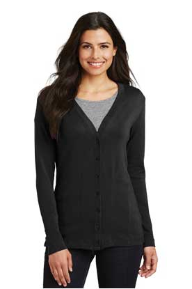 Picture of Port Authority ®  Ladies Modern Stretch Cotton Cardigan. L515