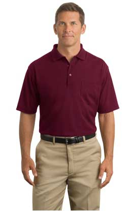Picture of CornerStone ®  - Industrial Pocket Pique Polo. CS402P