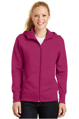 Picture of Sport-Tek ®  Ladies Full-Zip Hooded Fleece Jacket. L265