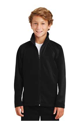 Picture of Sport-Tek ®  Youth Tricot Track Jacket. YST90