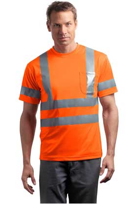 Picture of CornerStone ®  - ANSI 107 Class 3 Short Sleeve Snag-Resistant Reflective T-Shirt. CS408