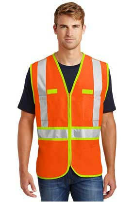 Picture of CornerStone ®  - ANSI 107 Class 2 Dual-Color Safety Vest. CSV407