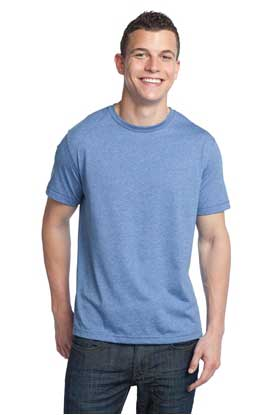 Picture of District ®  - Young Mens Tri-Blend Crewneck Tee. DT142