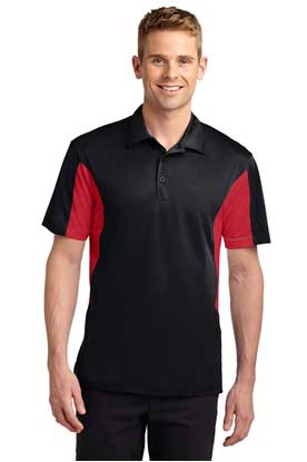 Picture of Sport-Tek ®  Side Blocked Micropique Sport-Wick ®  Polo. ST655