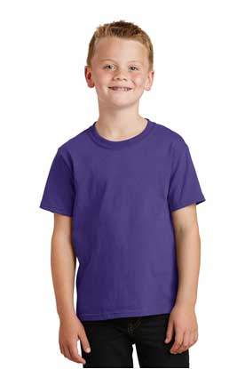 Picture of Port & Company ®  - Youth Core Cotton Tee. PC54Y