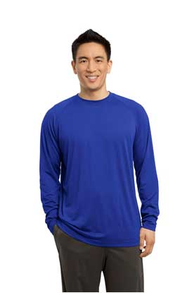Picture of Sport-Tek ®   Long Sleeve Ultimate Performance Crew. ST700LS