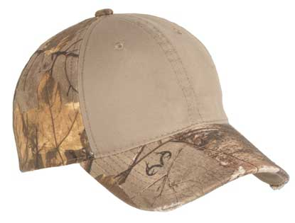 Picture of Port Authority ®  Camo Cap with Contrast Front Panel. C807
