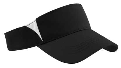 Picture of Sport-Tek ®  Dry Zone ®  Colorblock Visor.  STC13