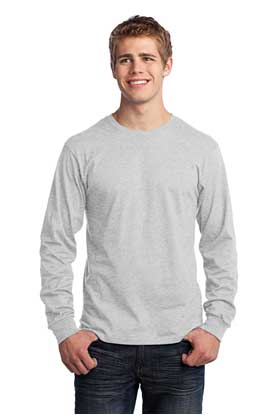 Picture of Port & Company ®  - Long Sleeve Core Cotton Tee. PC54LS