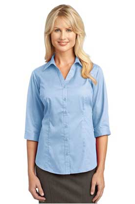 Picture of  IMPROVED  Port Authority ®  Ladies 3/4-Sleeve Blouse. L6290
