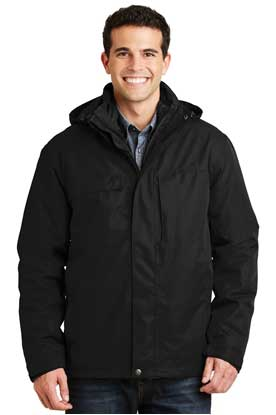 Picture of Port Authority ®  Herringbone 3-in-1 Parka. J302