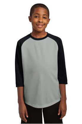 Picture of Sport-Tek ®  Youth PosiCharge® Baseball Jersey. YST205