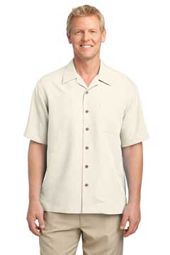 Picture of Port Authority ®  Patterned Easy Care Camp Shirt. S536