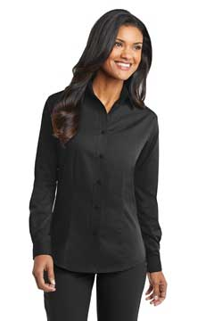 Picture of Port Authority ®  Ladies Tonal Pattern Easy Care Shirt. L613