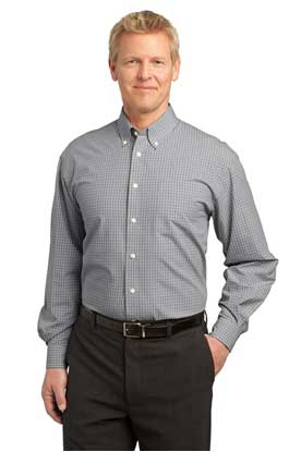 Picture of Port Authority ®  Plaid Pattern Easy Care Shirt. S639