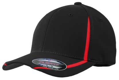 Picture of Sport-Tek ®  Flexfit ®  Performance Colorblock Cap. STC16