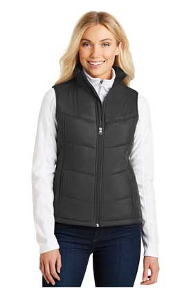 Picture of Port Authority ®  Ladies Puffy Vest. L709