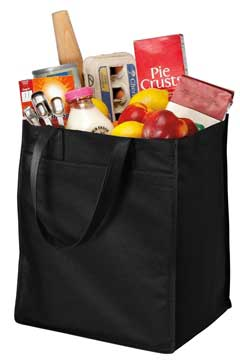 Picture of Port Authority ®  - Extra-Wide Polypropylene Grocery Tote. B160