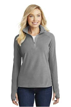 Picture of Port Authority ®  Ladies Microfleece 1/2-Zip Pullover. L224
