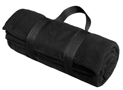 Picture of Port Authority ®  Fleece Blanket with Carrying Strap. BP20