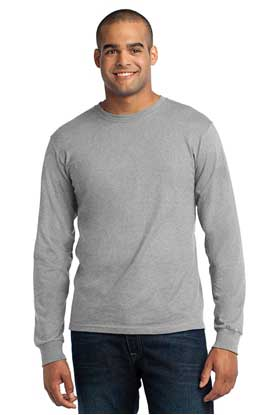 Picture of Port & Company ®  - Long Sleeve All-American Tee. USA100LS